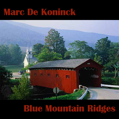 Artwork Blue Mountain Ridges