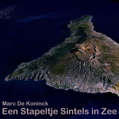 Artwork Een Stapeltje Sintels in Zee